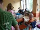 Drużyna Szpiku - wizyta w szpitalu